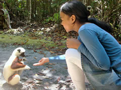 Sifaka lemur and Ratsimbazafy Liantsoa Jenny, Love, Christian thought