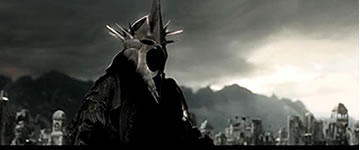 Sauron in The Lord of the Rings - Peter Jackson and JRR Tolkien - Reflections on life, Teach us to number our days aright