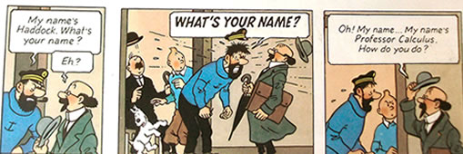 Tintin by Herge, Trust, Christian thought